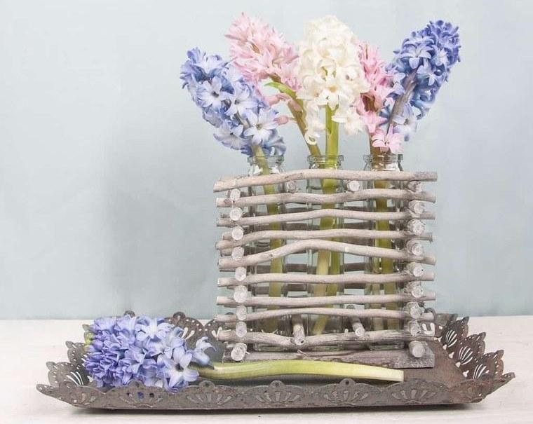 flores de jacinto ideas para decorar