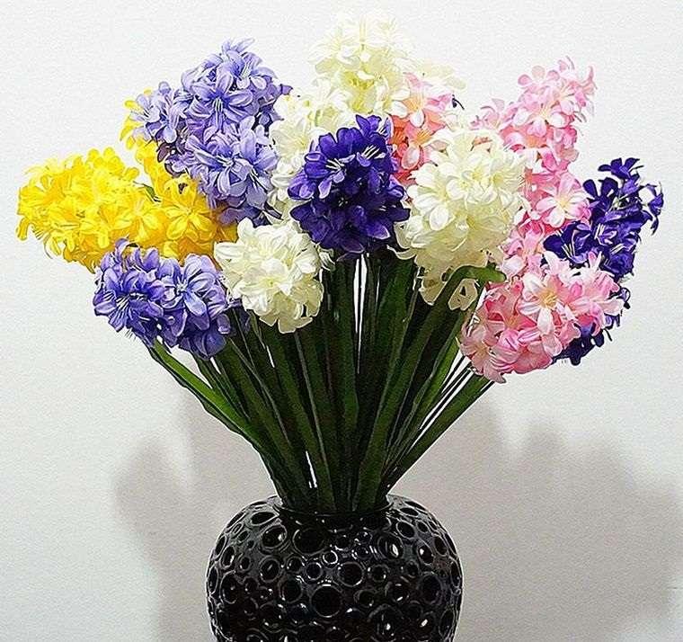 flores de jacinto para color primavera