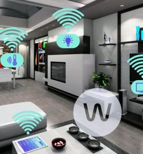hogar inteligente control seguro