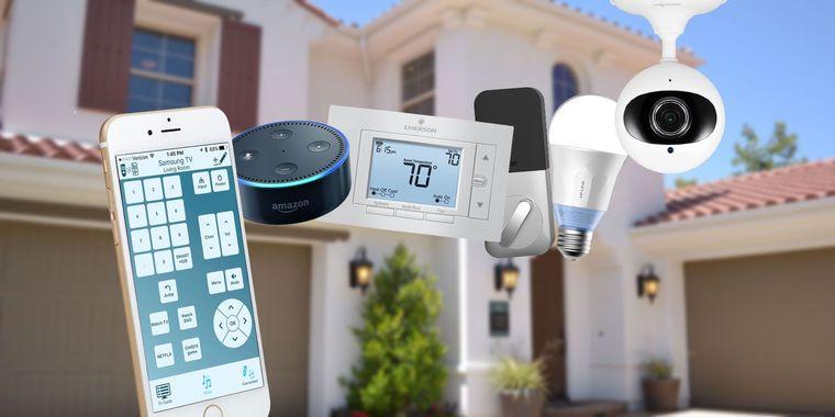 hogar inteligente dispositivos