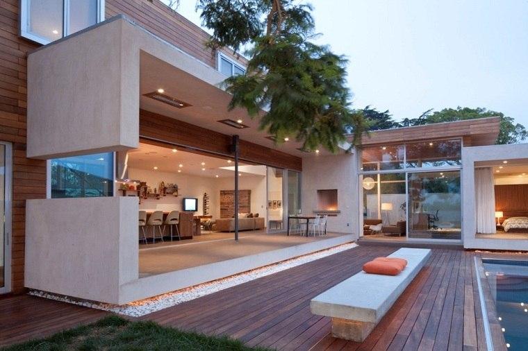jardines-piscina-ideas-originales-banco