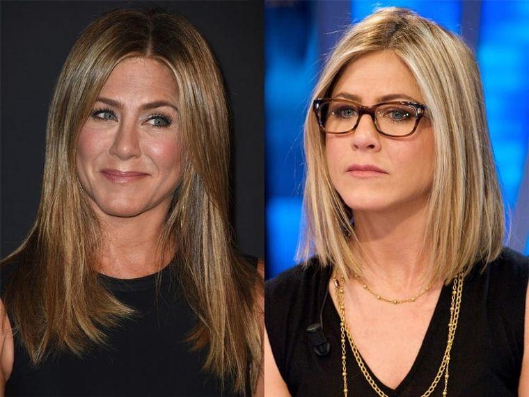 mujeres mayores de 50 peinados con gafas enmarca rostro
