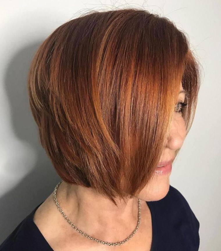 mujeres mayores de colores de cabello tendencia