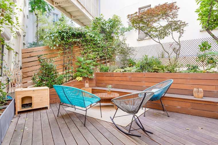 patios decorados-2021-muebles-estilo