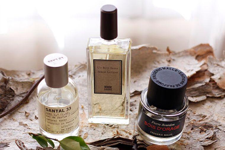 perfumes aroma amaderado