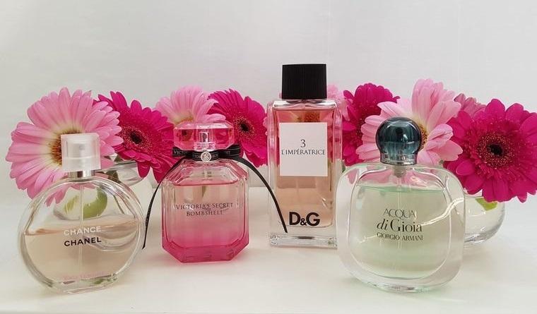 perfumes diferente duracion
