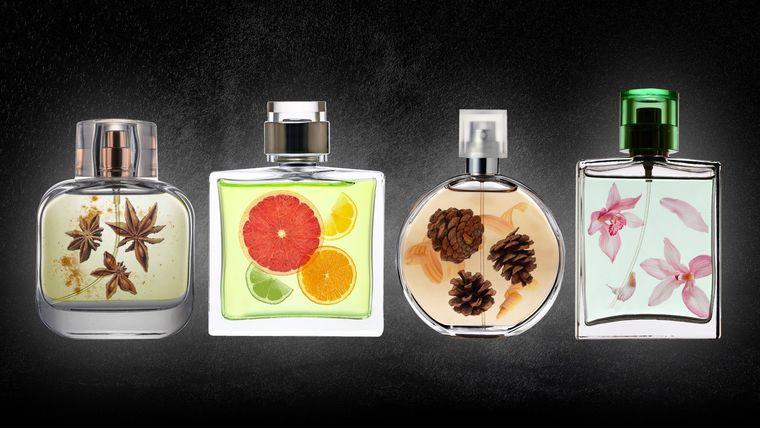perfumes diferentes aromas