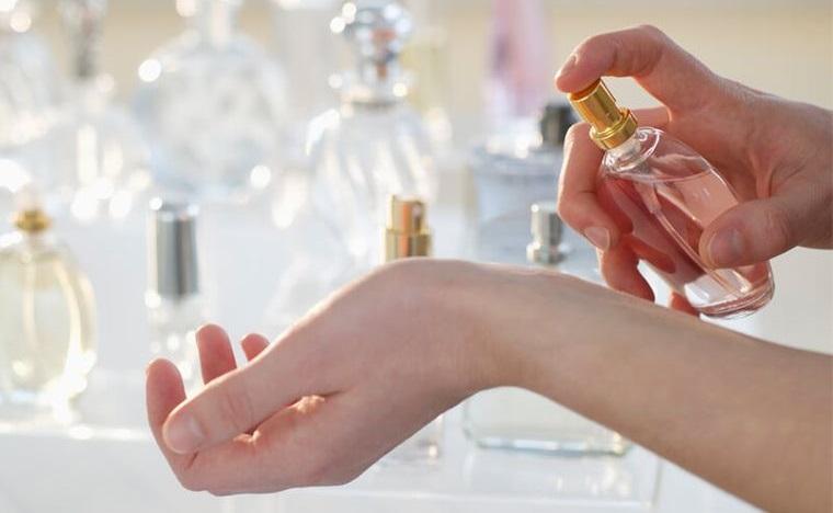 perfumes puntos de pulso