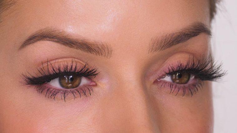 tipos de pestañas postizas diferentes ojos