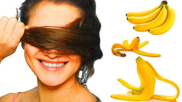 caída del cabello en mujeres mascarilla platano