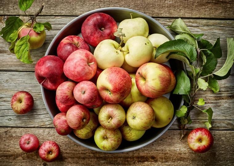 cocina feng shui-comer-alimentos-manzanas
