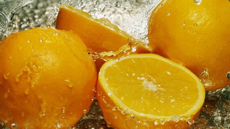 cocina feng shui-comer-alimentos-naranjas