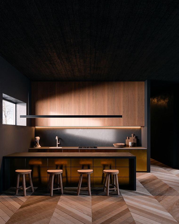 cocinas-2021-disenos-madera-cobre