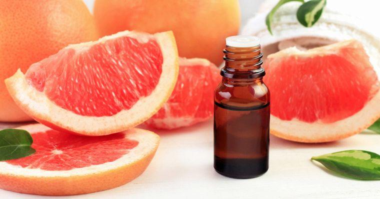 cómo reducir la papada aceite pomelo