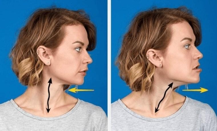 cómo reducir la papada ejercita cuello
