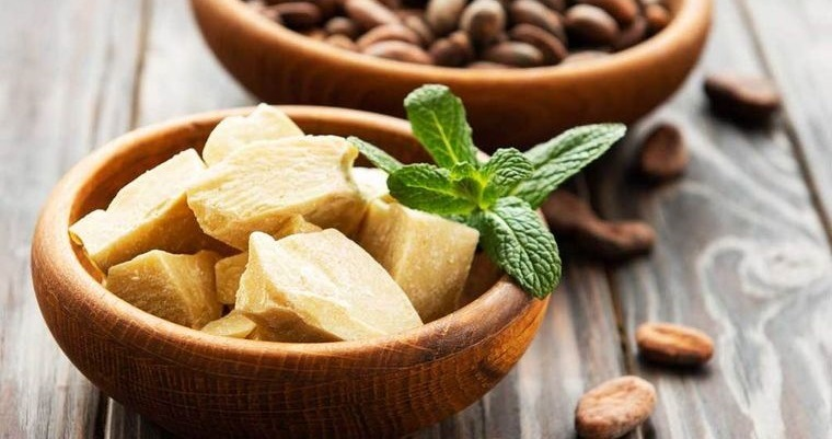 cómo reducir la papada manteca de cacao