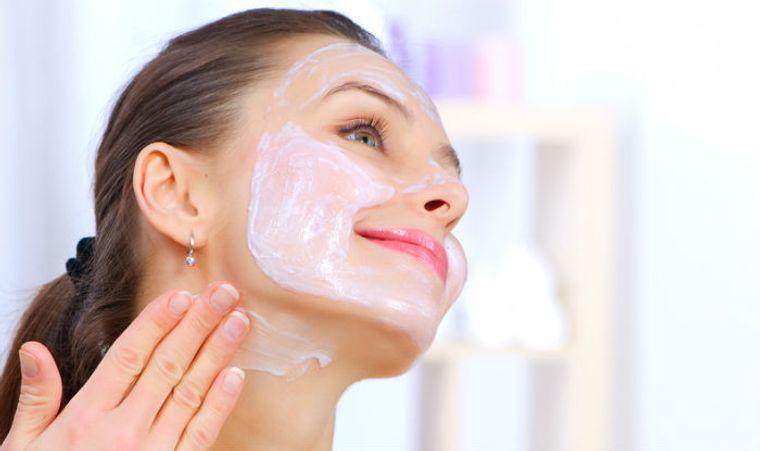 cuidado facial mascarilla de yogur