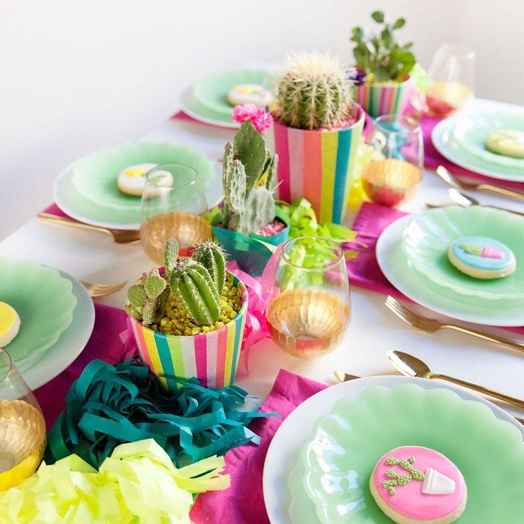 cumpleaños decoracion colorida