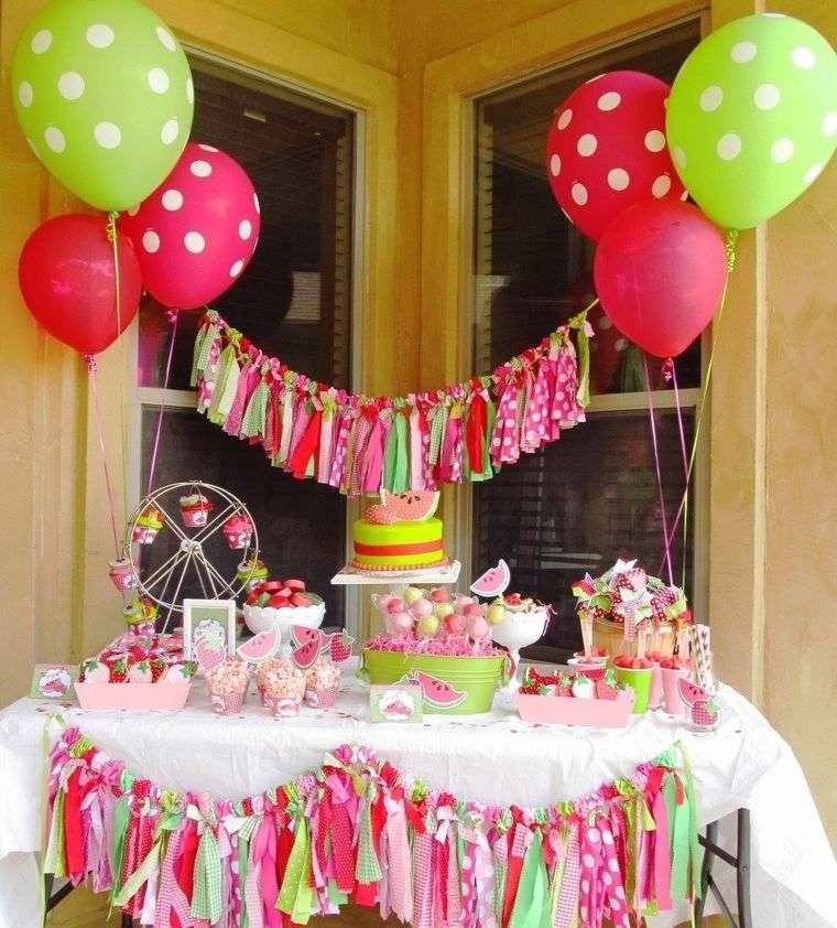 cumpleaños decoracion con globos