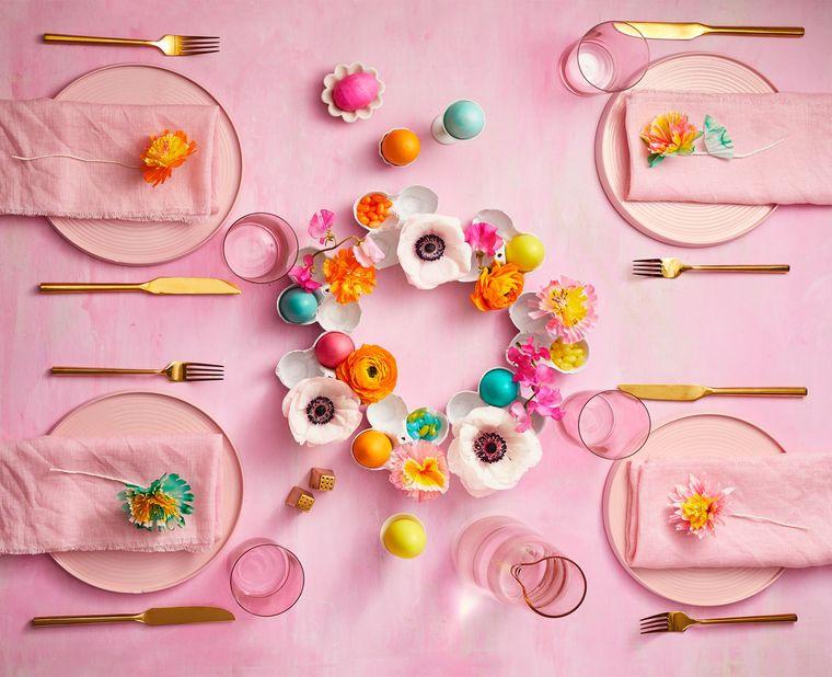 cumpleaños decoracion mesa sencilla