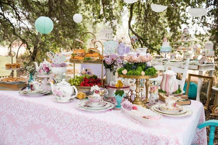 cumpleaños decoracion vintage primavera
