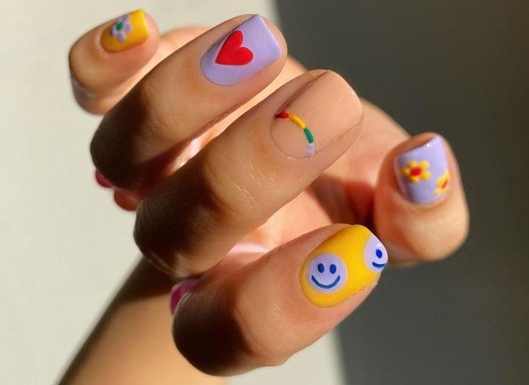 diseño independiente uñas arte