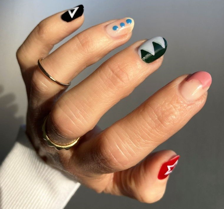 diseño independiente uñas elegantes