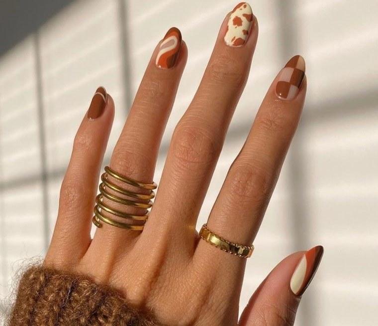 diseño independiente uñas estilos