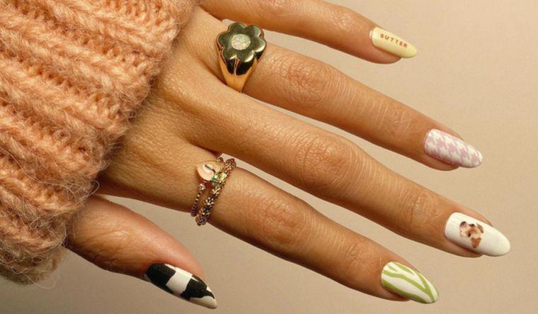 diseño independiente uñas sofisticadas