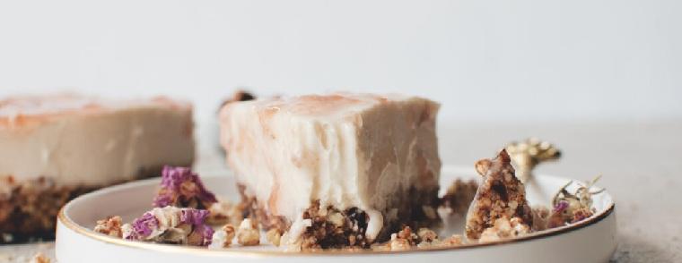 dulces veganos-ideas-pastel-queso-coco