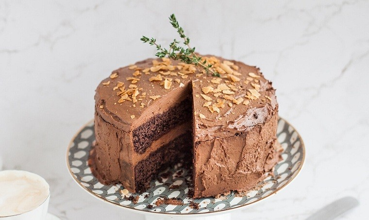 Dulces veganos-ideas-tarta-chocolate