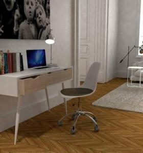 estudio en casa muebles