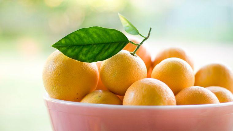 feng shui cuenco con naranjas