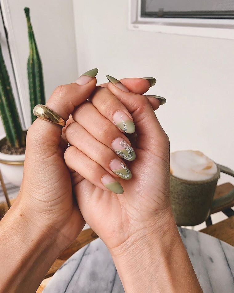 manicura-color-verde-2021-diseno