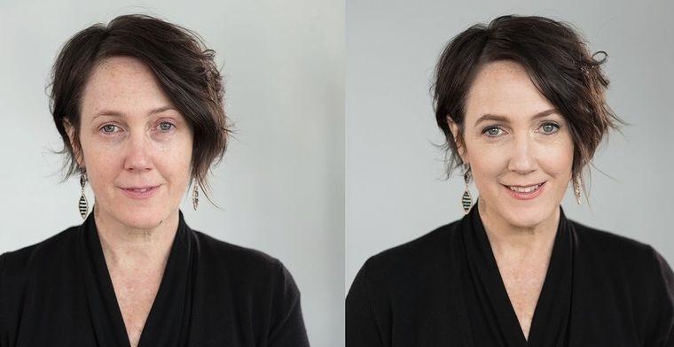 maquillaje natural adecuado para mujeres maduras