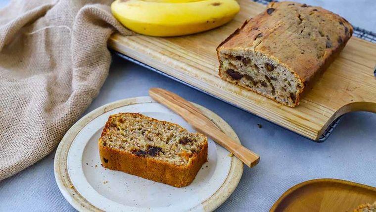 pan de plátano delicioso postre