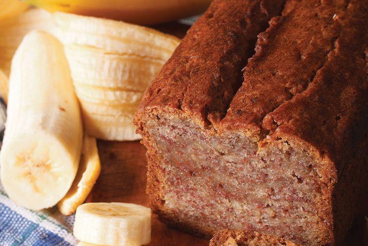 pan de plátano delicioso sabor