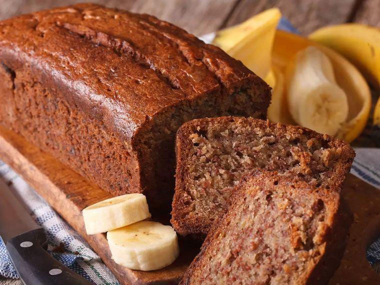 Pan de plátano – Fácil, delicioso y saludable postre