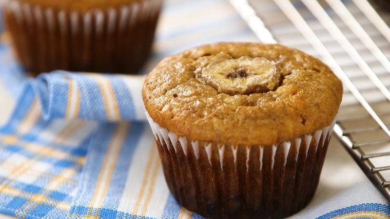 pan de plátano tambien muffins
