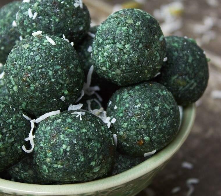 semillas de cáñamo espirulina receta bolas energeticas