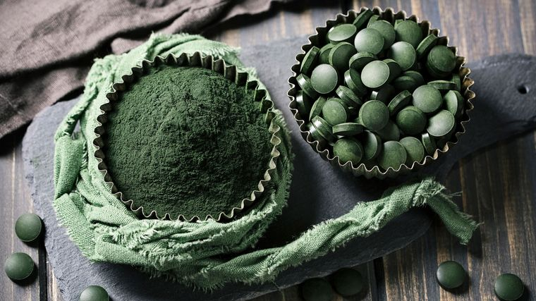 semillas de cáñamo espirulina saludables