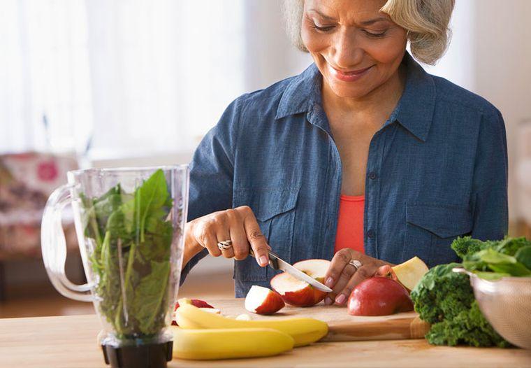 sistema inmunológico fuerte alimentacion personas mayores