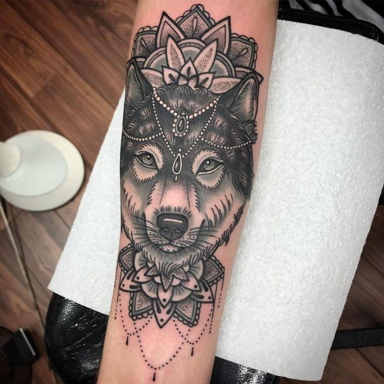Tatuajes de lobo – Significados e ideas de diseños