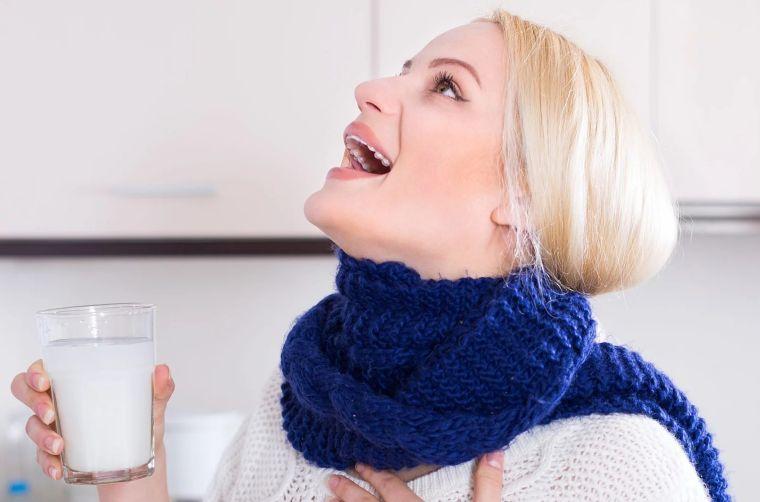 virus gripe gargaras agua sal