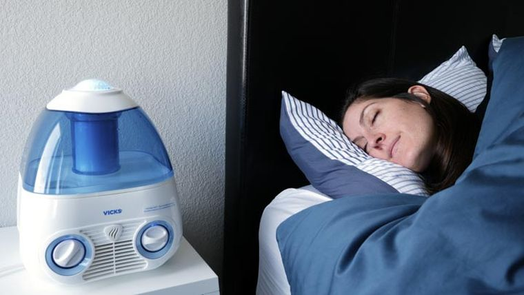 virus gripe humidificador