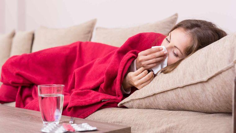 virus gripe recuperacion mucho descanso
