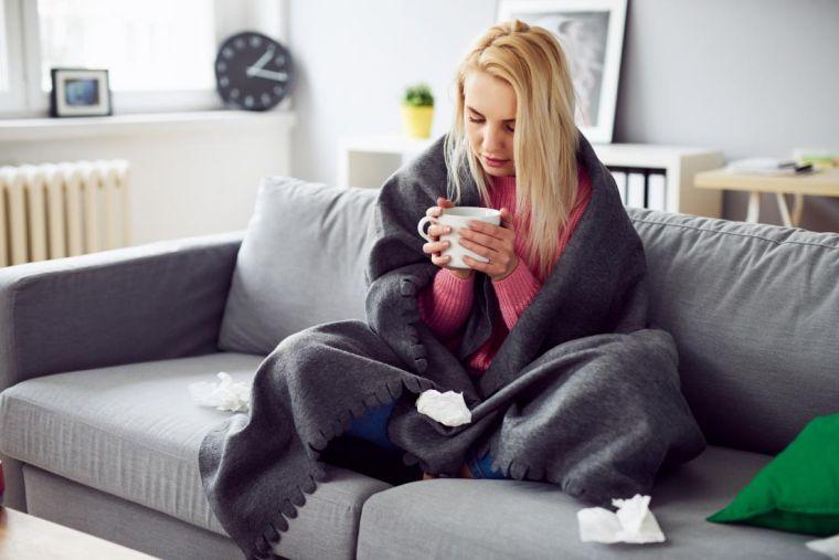 virus gripe sintomas infeccion viral