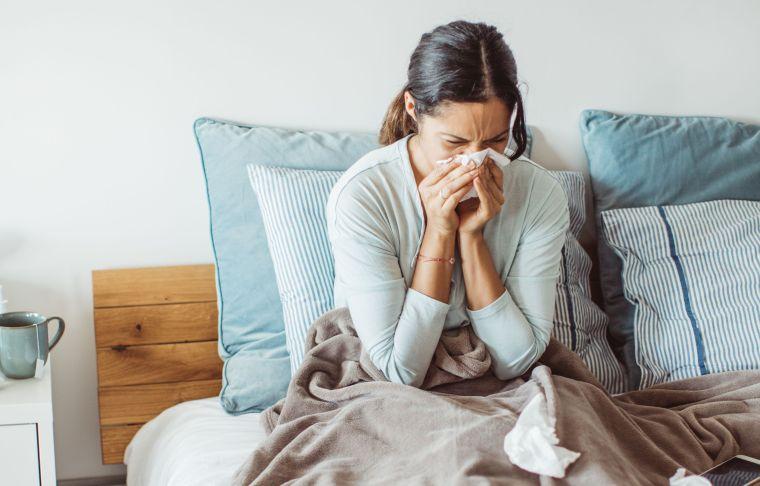 virus gripe sintomas
