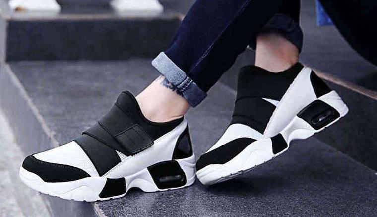 zapatos deportivos altos para mujer