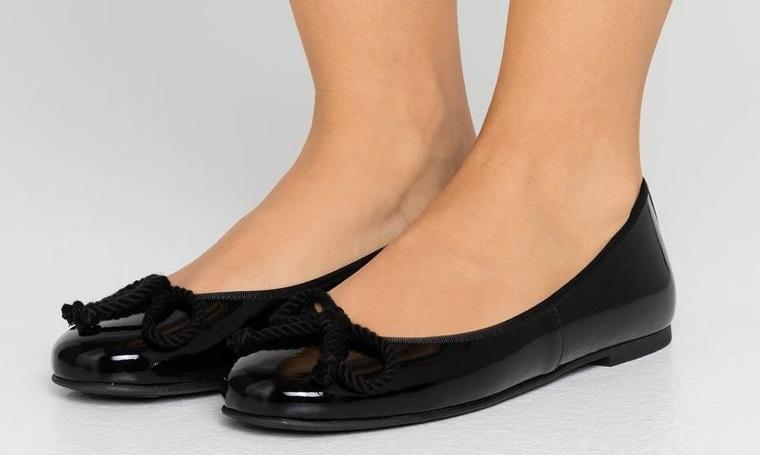 zapatos estilo bailarina mujer